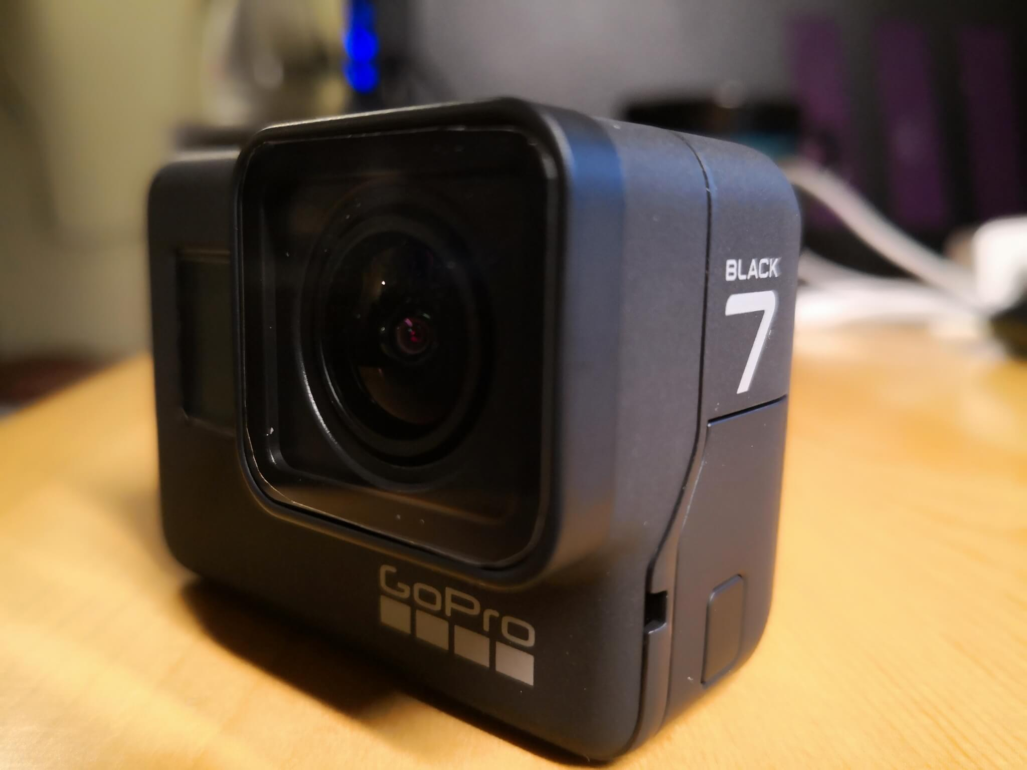 GoPro HERO7 BLACK 不具合!?